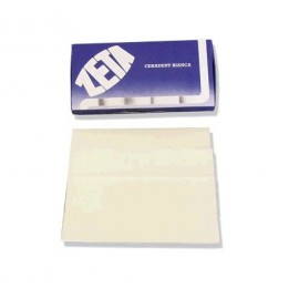 WHITE WAX SHEETS dim. 90x180 mm - thick. 1,5 mm - 10 sheets (pack size 250 g)