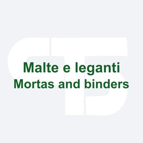 Mortars and binders