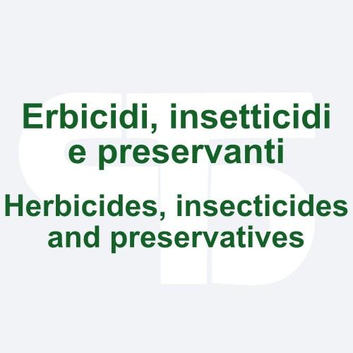 Herbicides, insecticides, preservatives