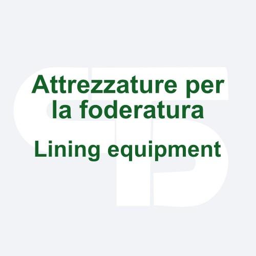Lining equipment